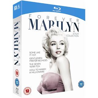 Marilyn Monroe Forever Marilyn boxset on Bluray