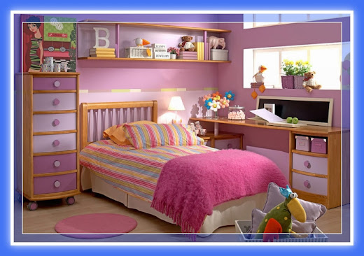 Decoraci n dormitorios juveniles con muebles de melamina for Decoracion de cuartos para senoritas