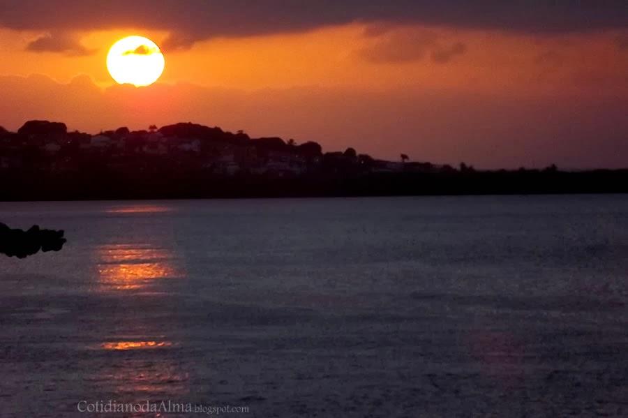 Por do sol no Rio Potengi Natal RN