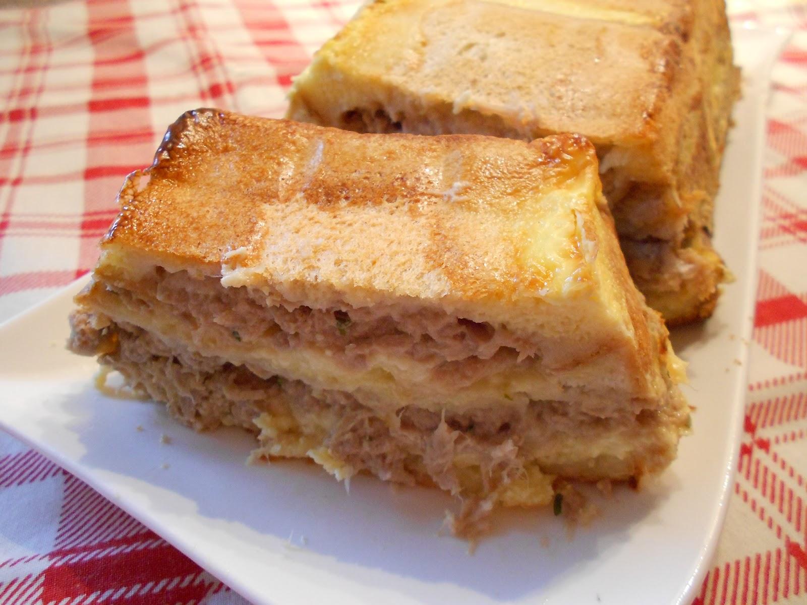 les petites recettes de lulu croque cake au thon