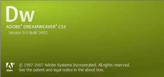 portable cs3 dreamweaver