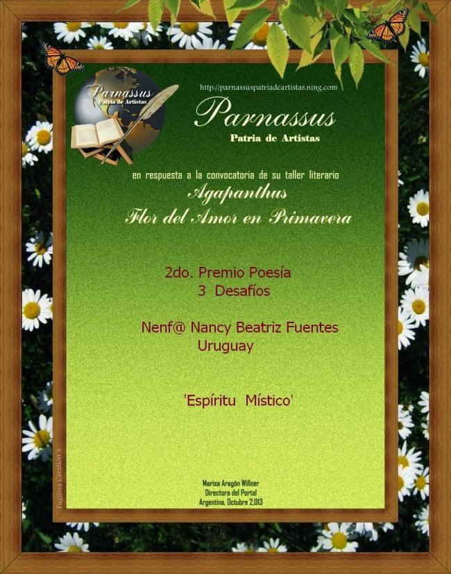 2ºlugar_Taller literario; Flor del amor _Parnasus
