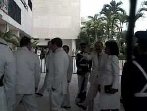 Danilo llega al Congreso