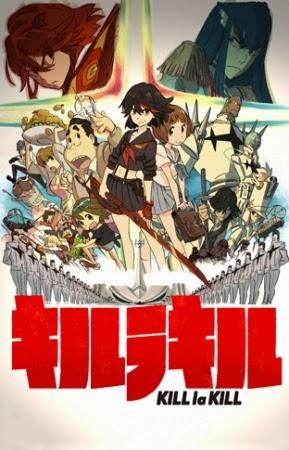 Manga Kill La Kill akan tamat Februari 2015