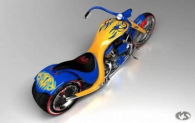Gambar Konsep Sepeda Motor Keren Menakjubkan