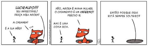 Tirinhas da Luna #24: 'Casamento' | Ordem da Fênix Brasileira