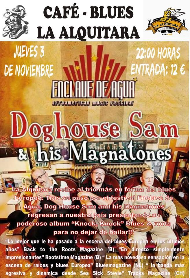 DOGHOUSE SAM & HIS MAGNATONES