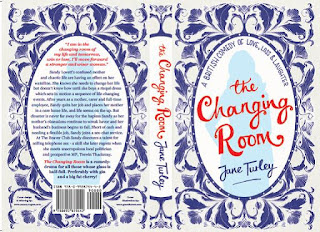 The Changing Room by Jane Turley paperback design