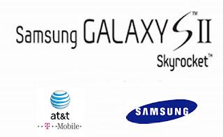 samsung galaxy sII skyrocket