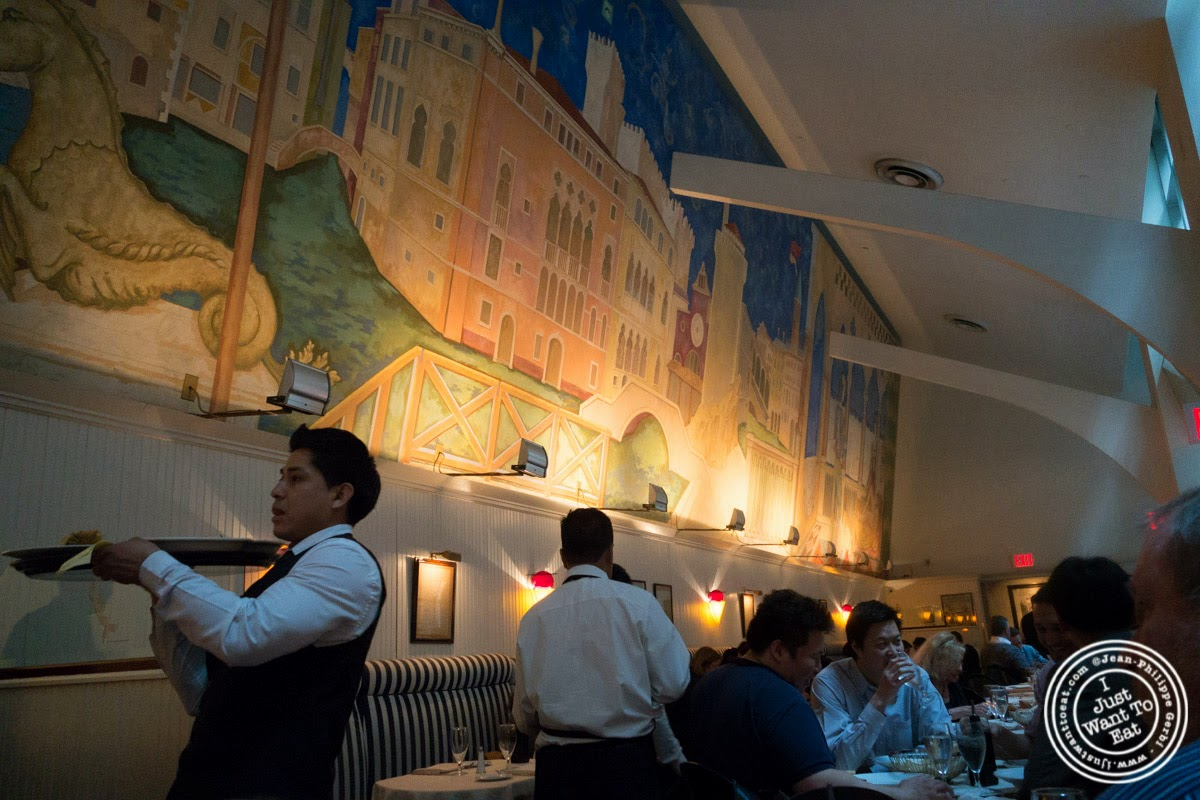 image of mural at Remi, in Midtown West, NYC, New York