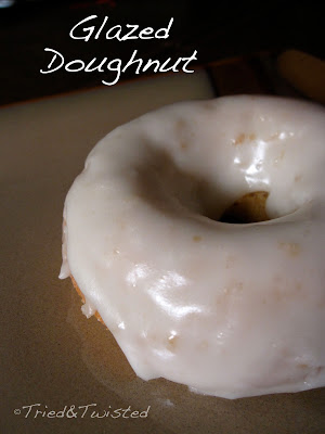 Baked Glazed Doughnuts via Tried & Twisted