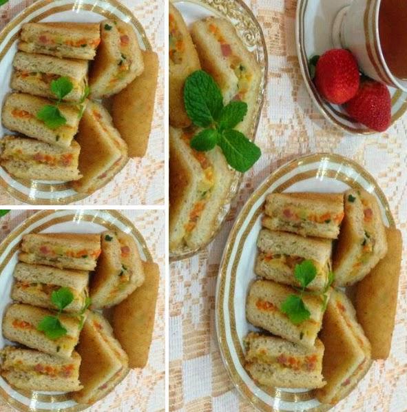 Resep Roti Tawar Goreng Isi Ragout Ayam Sayuran | Oke Foods