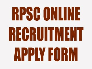 rpsc-online-application