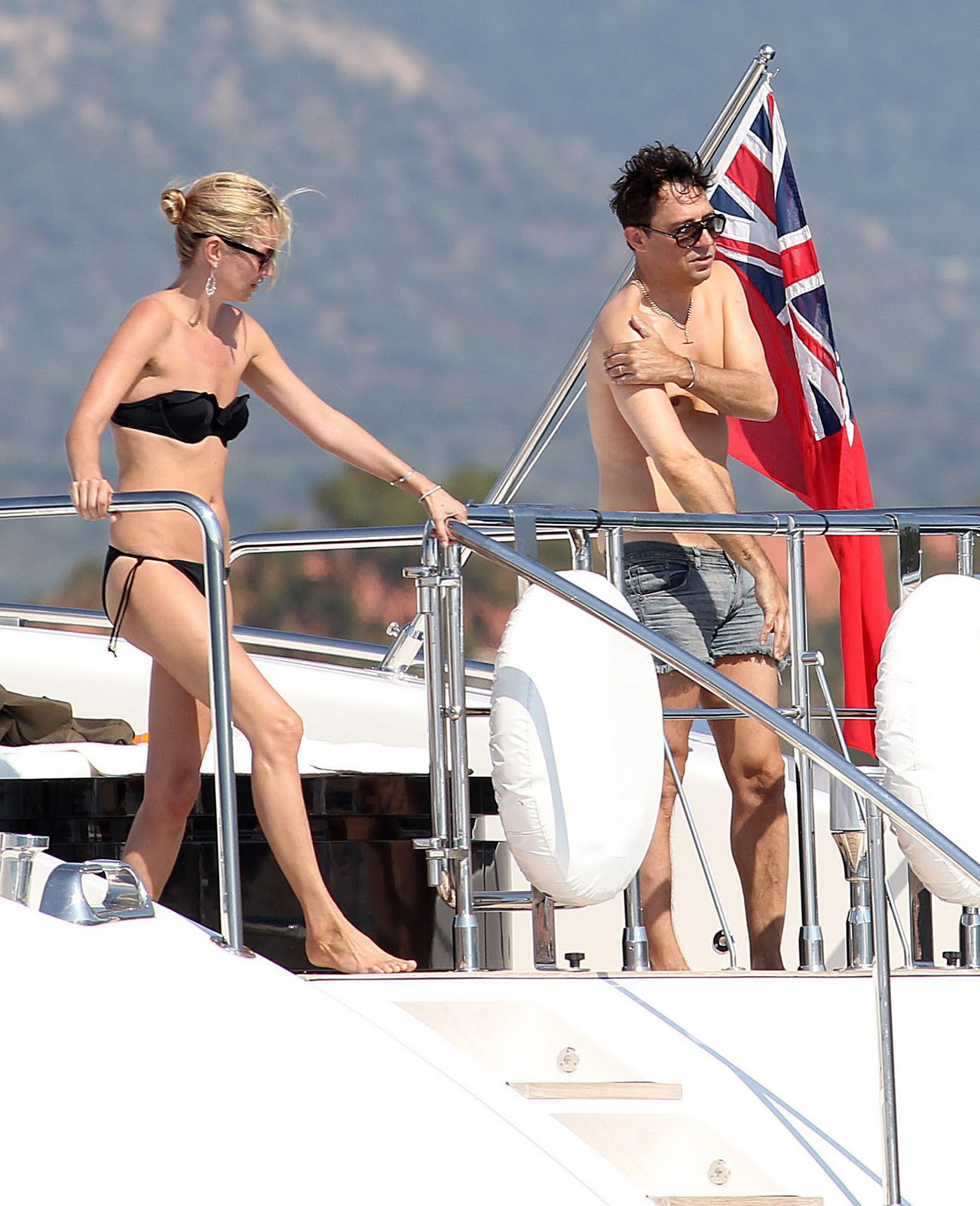 Kate Moss and Jamie Hince Honeymoon