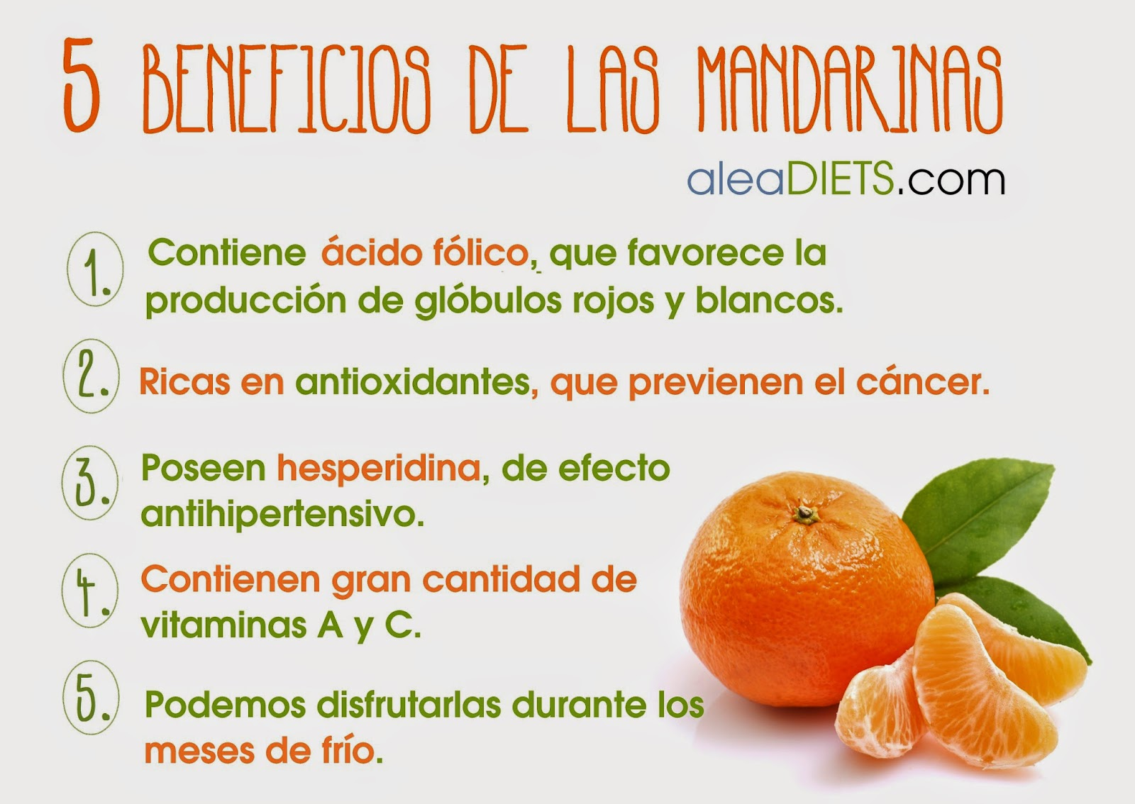 Mandarinas alea