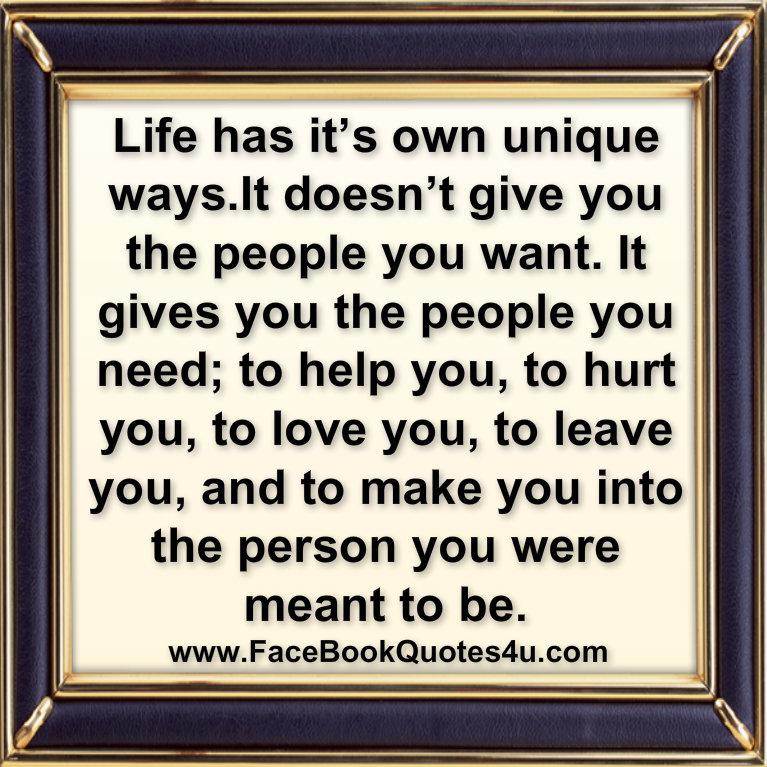 unique quotes about life - photo #45