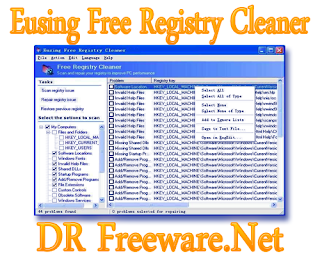 Eusing Free Registry Cleaner 3.3 Free Download