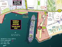 Puerto Vallarta Cruise Ship Port Map