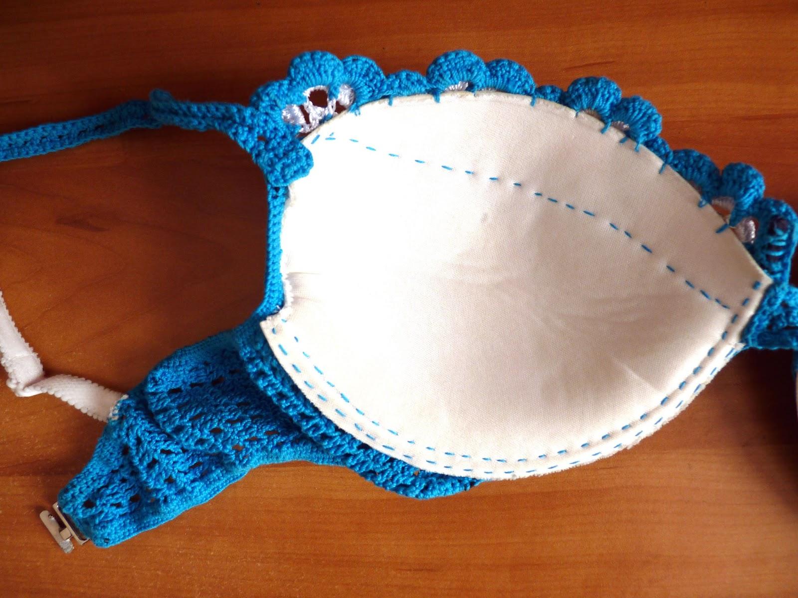 """Set De Baño Tejido En Crochet Paso A Paso: otro modelo en"""" Biquini a crochet paso a paso """"en la guia del bloger"""