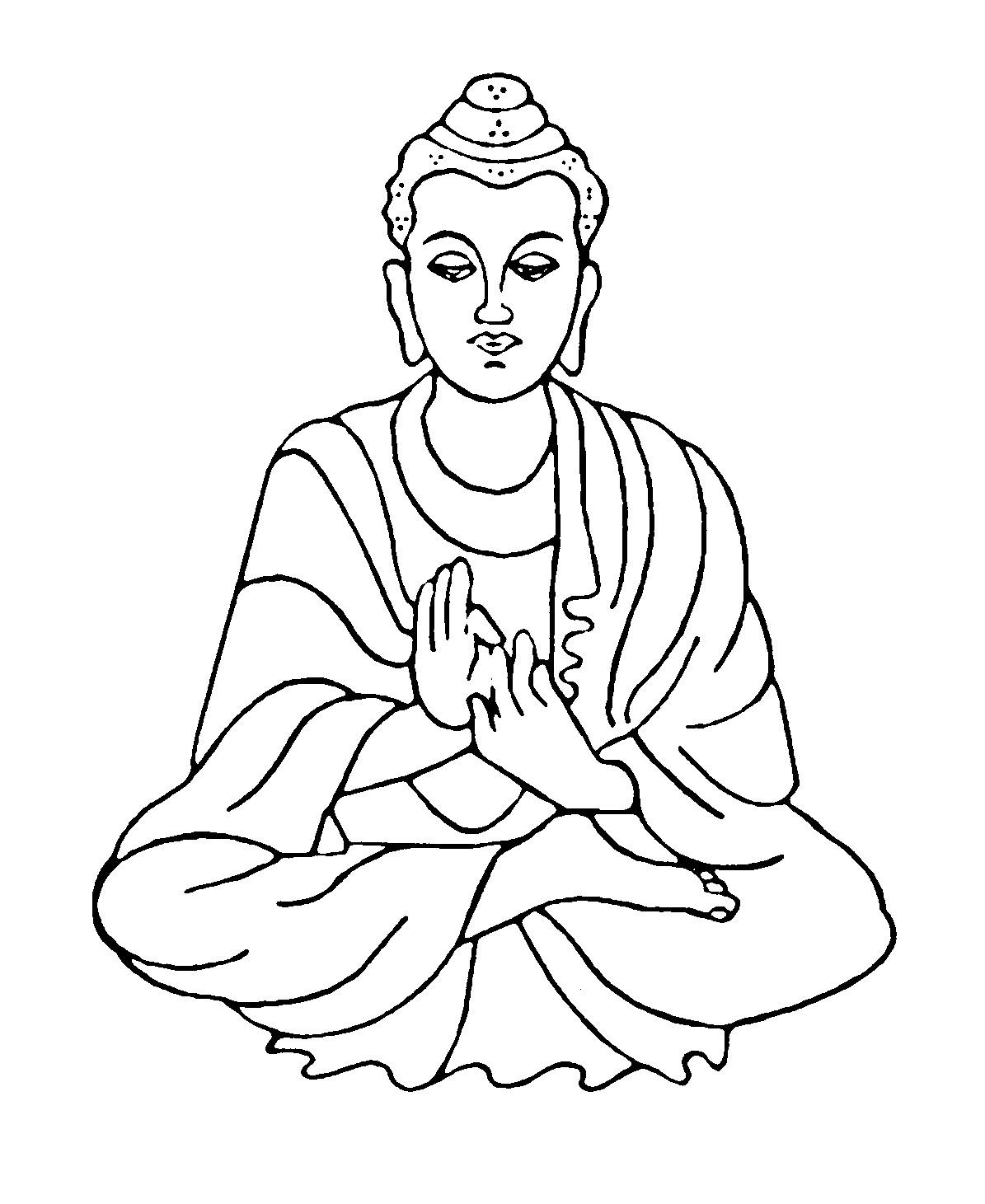 Buddha Face Line Drawing : Bhakti wallpaper — goutham buddha art