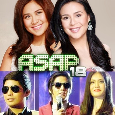 Sarah Geronimo, Dawn Zulueta and Showtime Kalokalikes on ASAP 18 Big Blast (June 30)