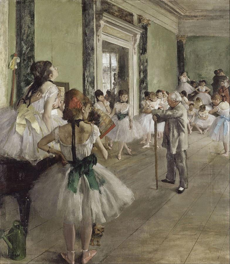 Edgar Degas the Dance Class