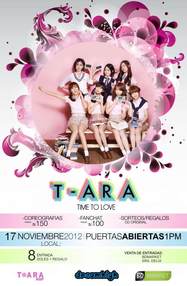 PROYECCION T-ARA Time To Love (17 nov)