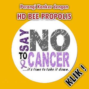 Matikan Sel Kanker dengan HD Bee Propolis Tablet