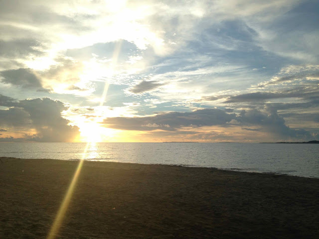 Sunset at Potipot Gateway Zambales