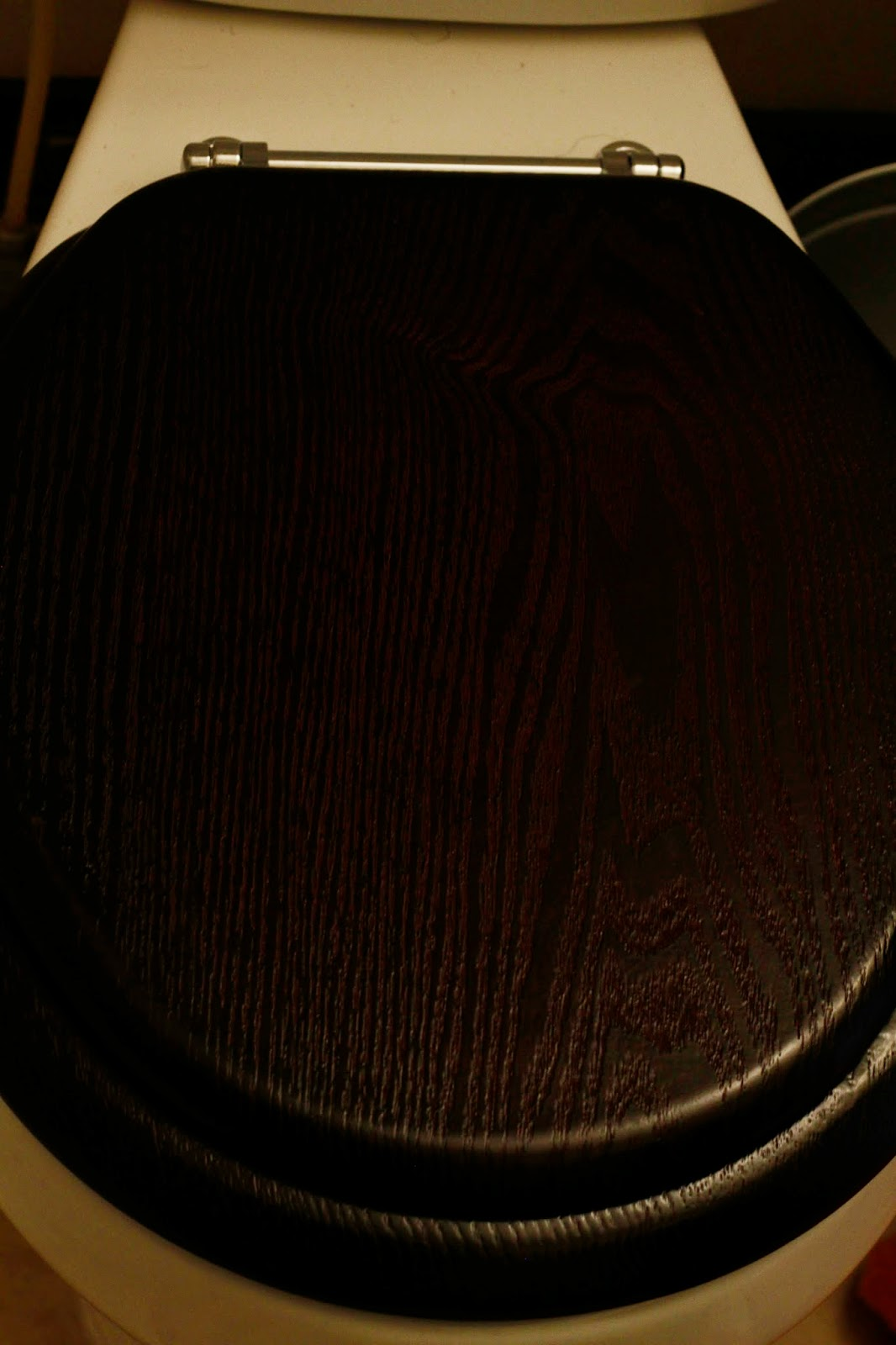 Dark Brown Toilet Seat. Gallery For Dark Cherry Wood Color Walnut Toilet Seat Cover Natural Chrome  Hinges martinkeeis me 100 Black Images Lichterloh