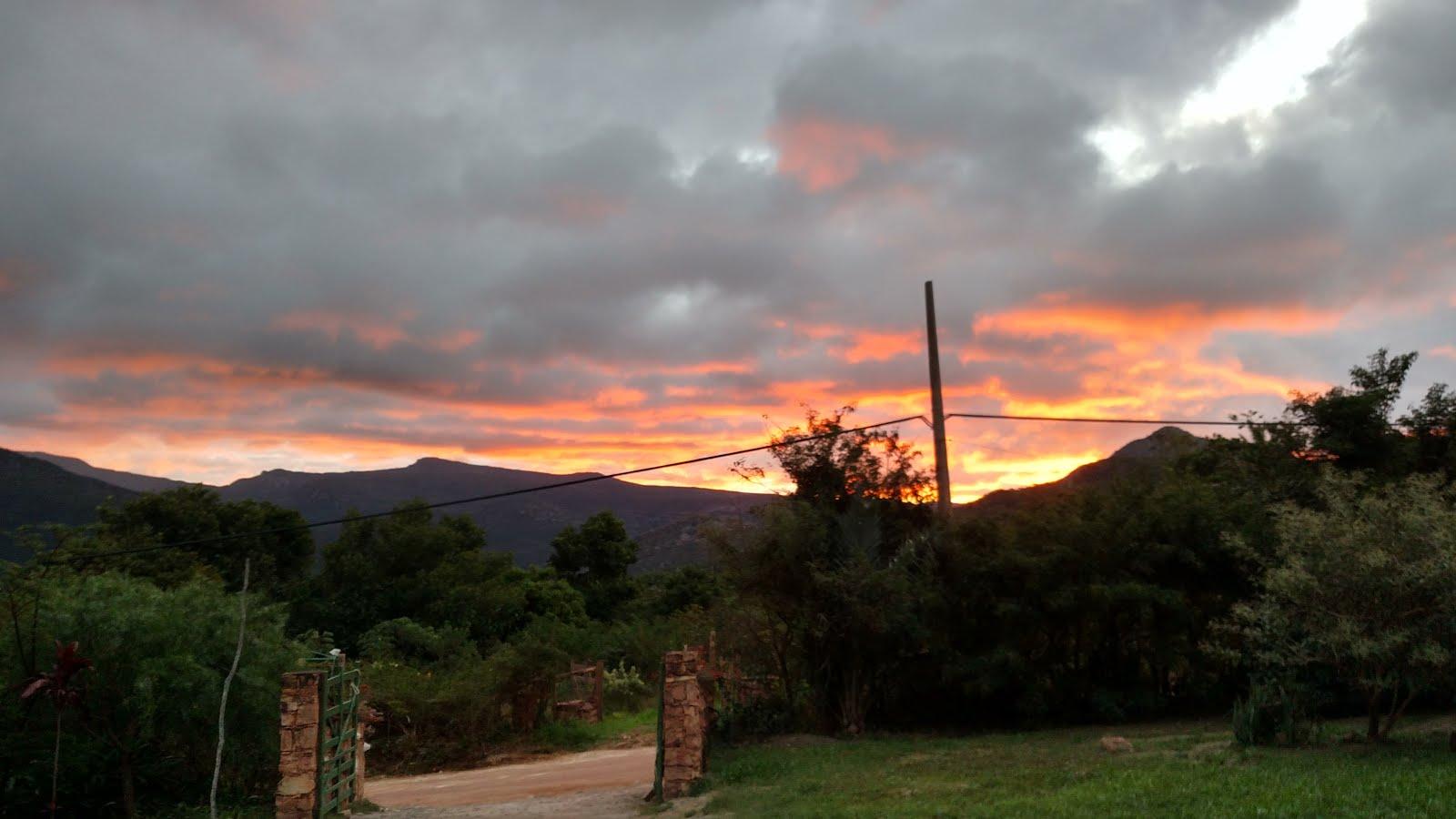 Venha desfrutar do mais belo pôr do sol!