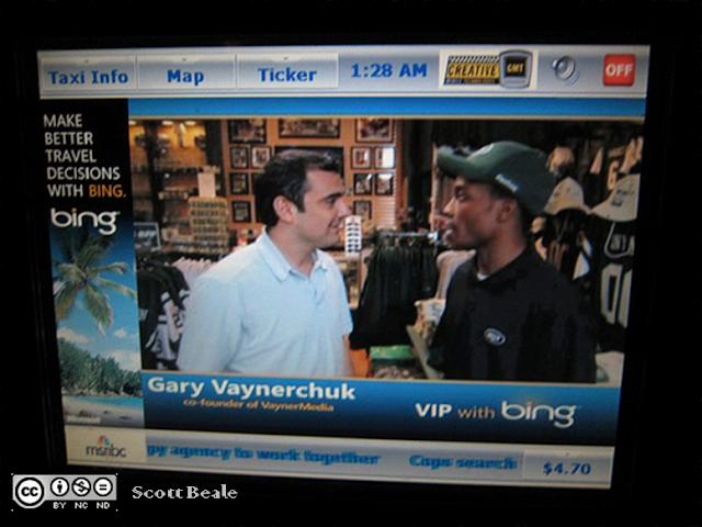 Gary Vaynerchuck durante una entrevista.