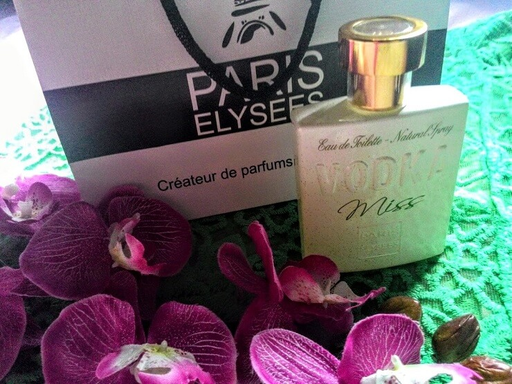 perfume Miss Vodka, Paris Elysees