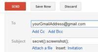comandare il pc da Gmail