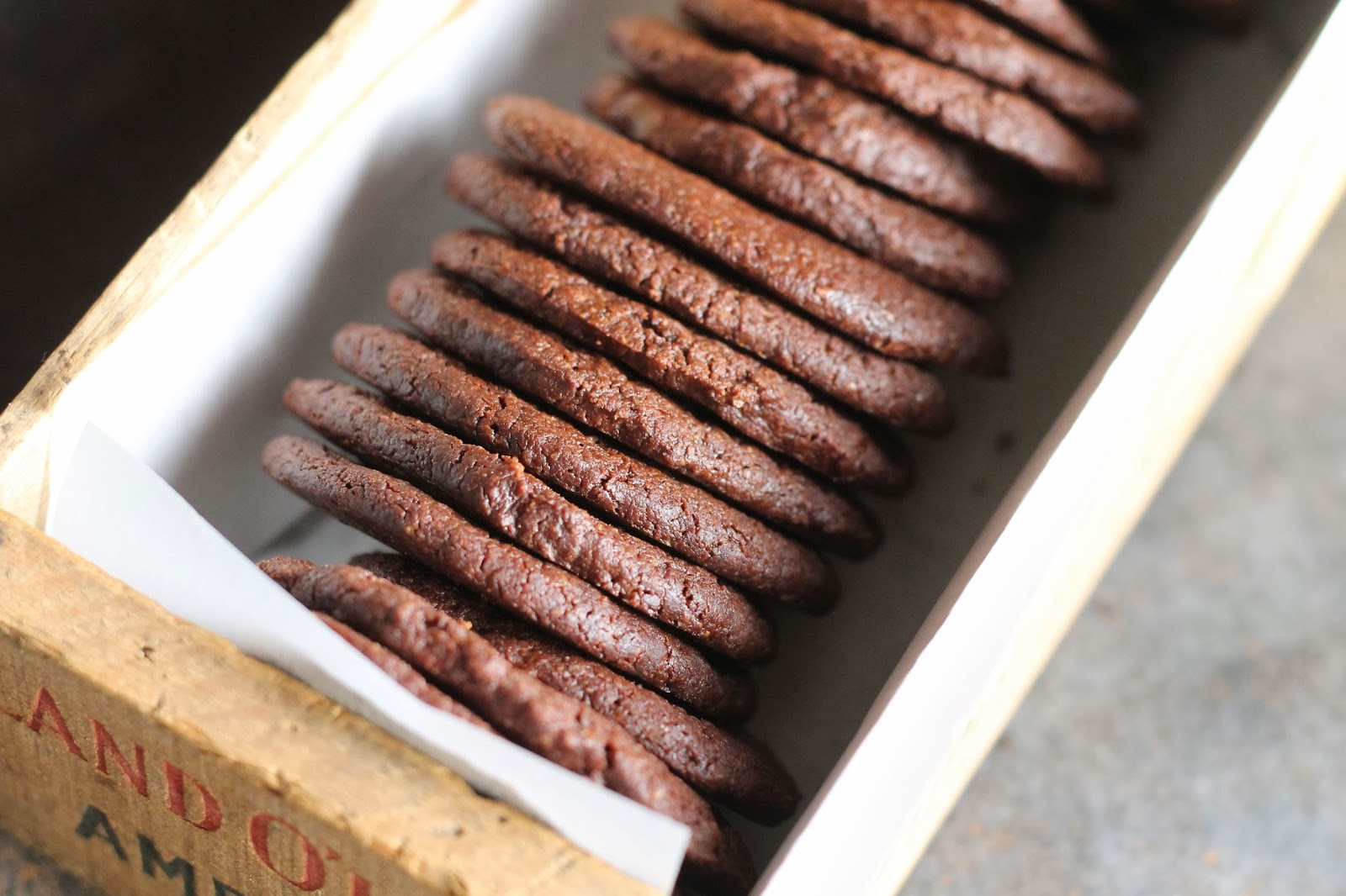 Where Your Treasure Is: Homemade Whole Wheat Chocolate Wafers