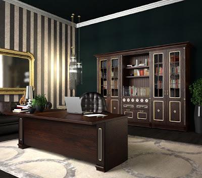 Home office escrit rio em casa decora o e ideias - Escritorios para casas ...