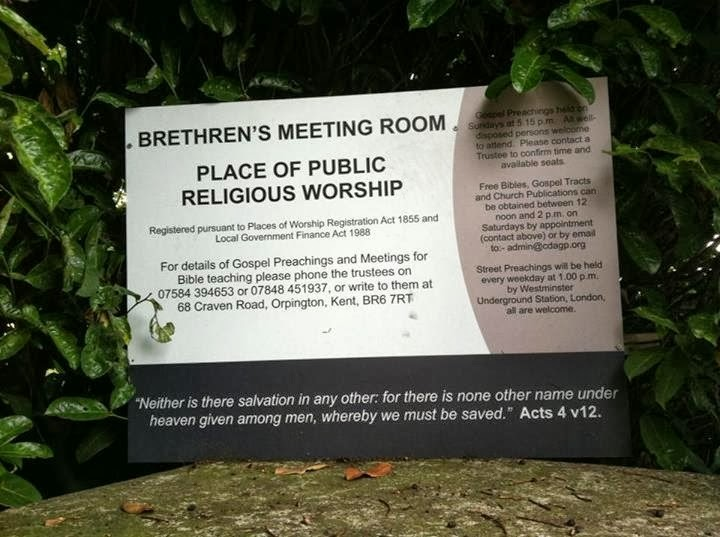 Detriment & Harm caused by the Hales exclusive brethren
