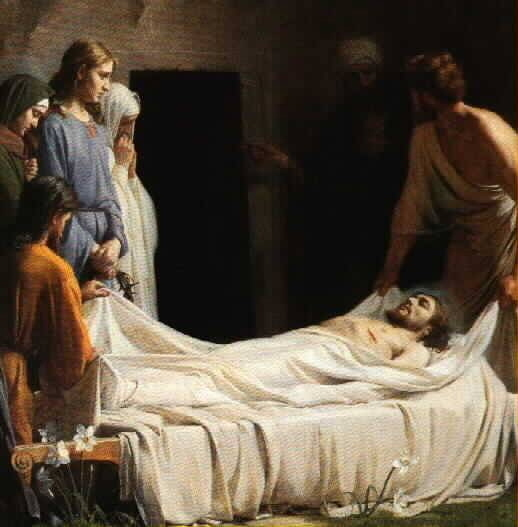 a discussion about the death of jesus christ Point 70: the death of jesus christ is the central theme of heaven's song revelation 5:8-12 [8] and when he had taken it, the four living creatures and the twenty-four elders fell down before the lamb.