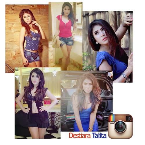 Koleksi foto sexy Model Sexy dan Caleg 2014, Destiara Talita