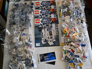 lego r2d2 - the unboxing