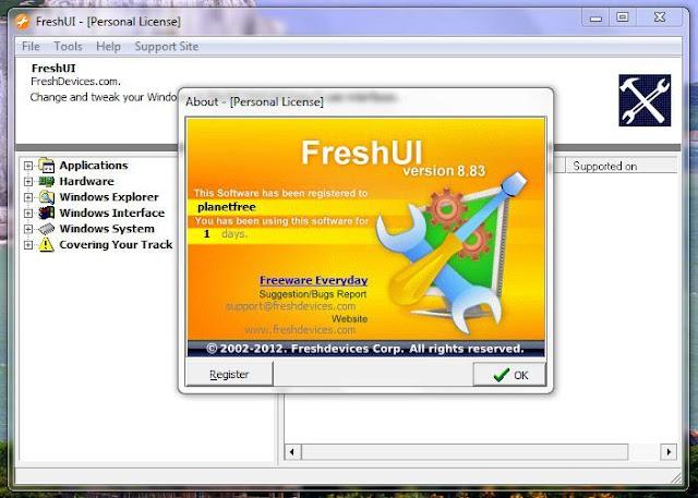 Fresh UI [Planet Free]