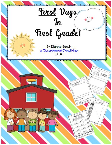 First Days in First Grade
