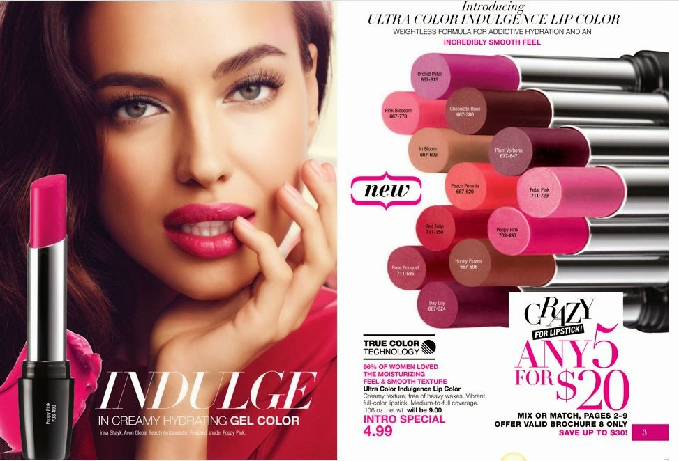 Avon Crazy For Lipstick | Campaign 8 2015