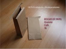 Bolsas para Cafe, Te, Granola