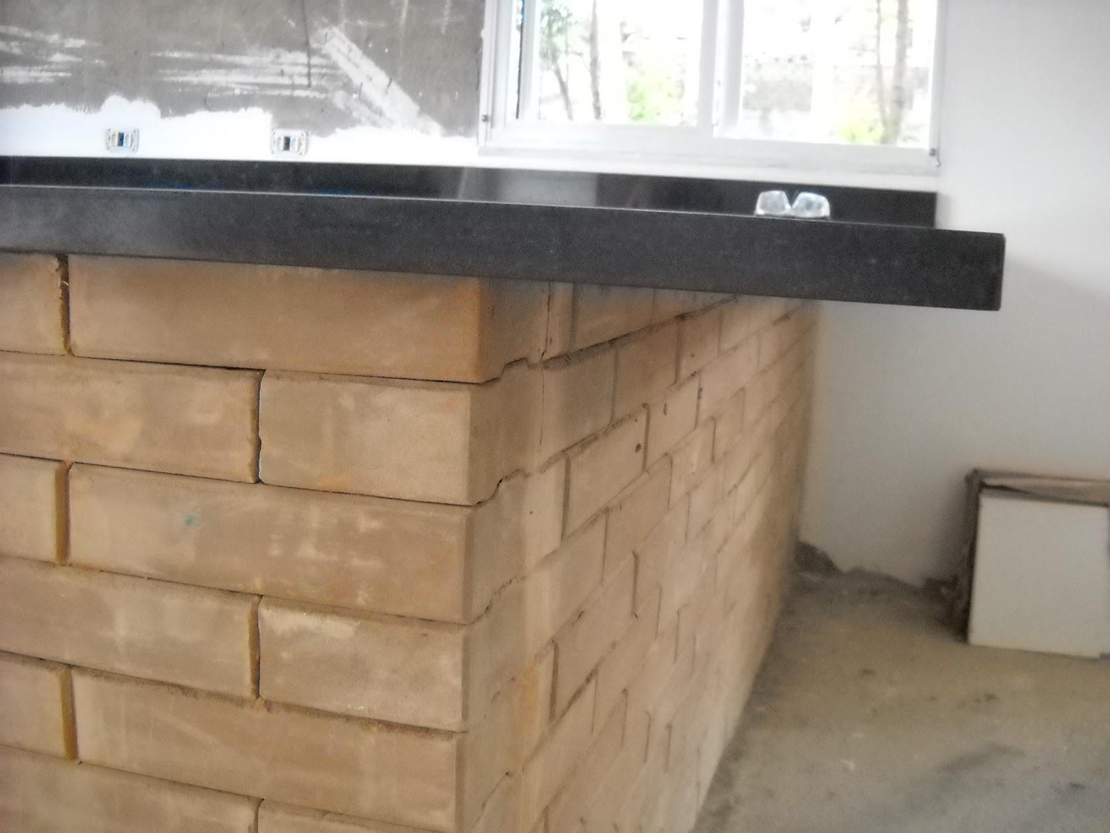 Nossa casa nosso jeito de viver 20 novembro 2012 # Ilha Cozinha Em Alvenaria