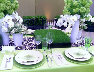 South Shore Decorating Blog: Spring / Easter Table Setting Ideas