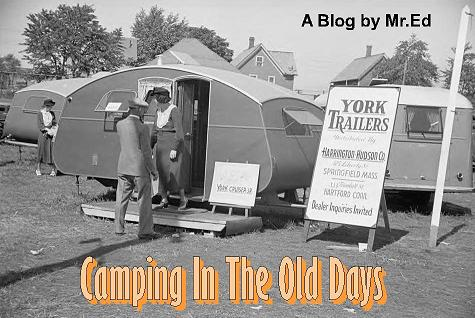 There's more! Click this link to see camping trailers, motorhomes, and more from days gone by ~