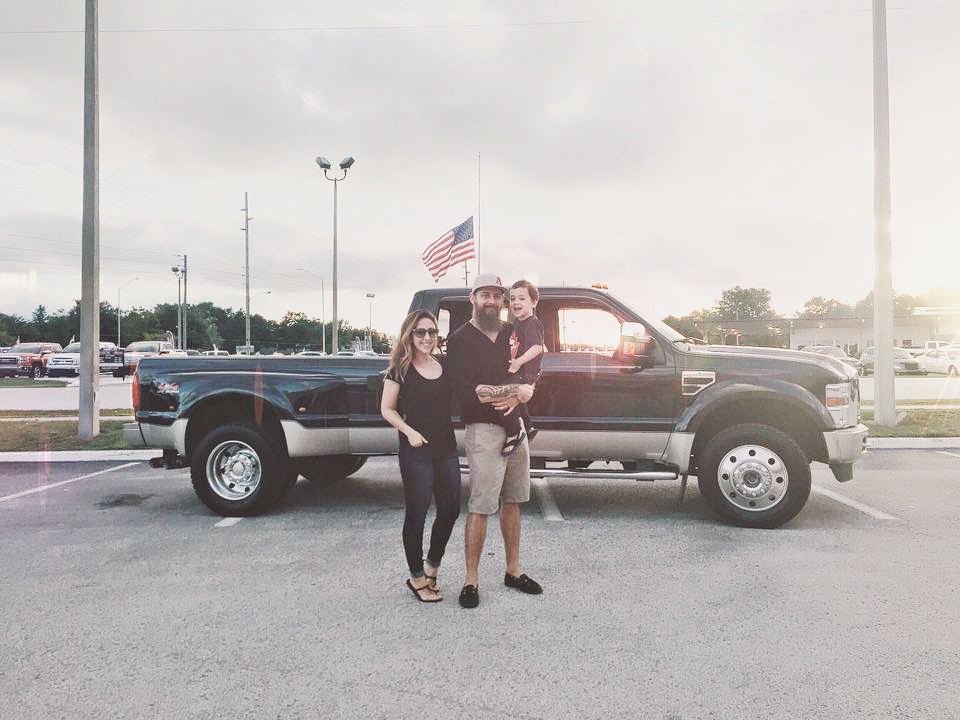 we bought a truck thanks to beachbody coaching success