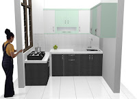 desain furniture semarang kitchen set minimalis HPL granit 01