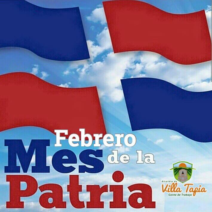 Febrero Mes de la Patria!